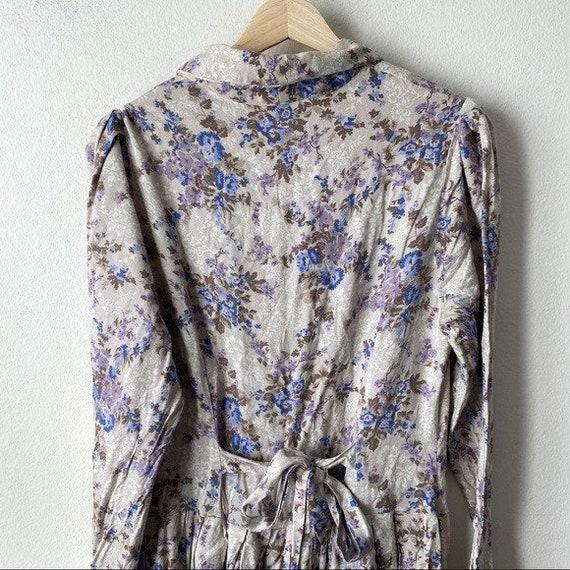 Laura Ashley Vintage 80s Cottagecore Prairie Flor… - image 8