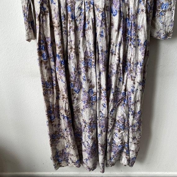 Laura Ashley Vintage 80s Cottagecore Prairie Flor… - image 5