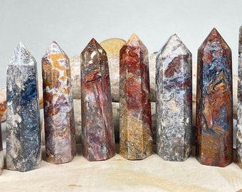 Reflections and Quality Color Rectangular PIETERSITE pendant Semi Precious Natural Stone
