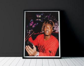 Rap Poster Hip Hop Poster Rapper Print Hypebeast Room Decor