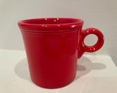 Fiestaware Scarlet Red Mug-(Discontinued color)