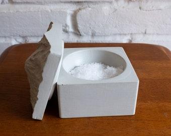 Mount Rainier Salt Cellar | Salt Cellar | Salt Pig | Salt Box | Cooking Gift | Spice Cellar