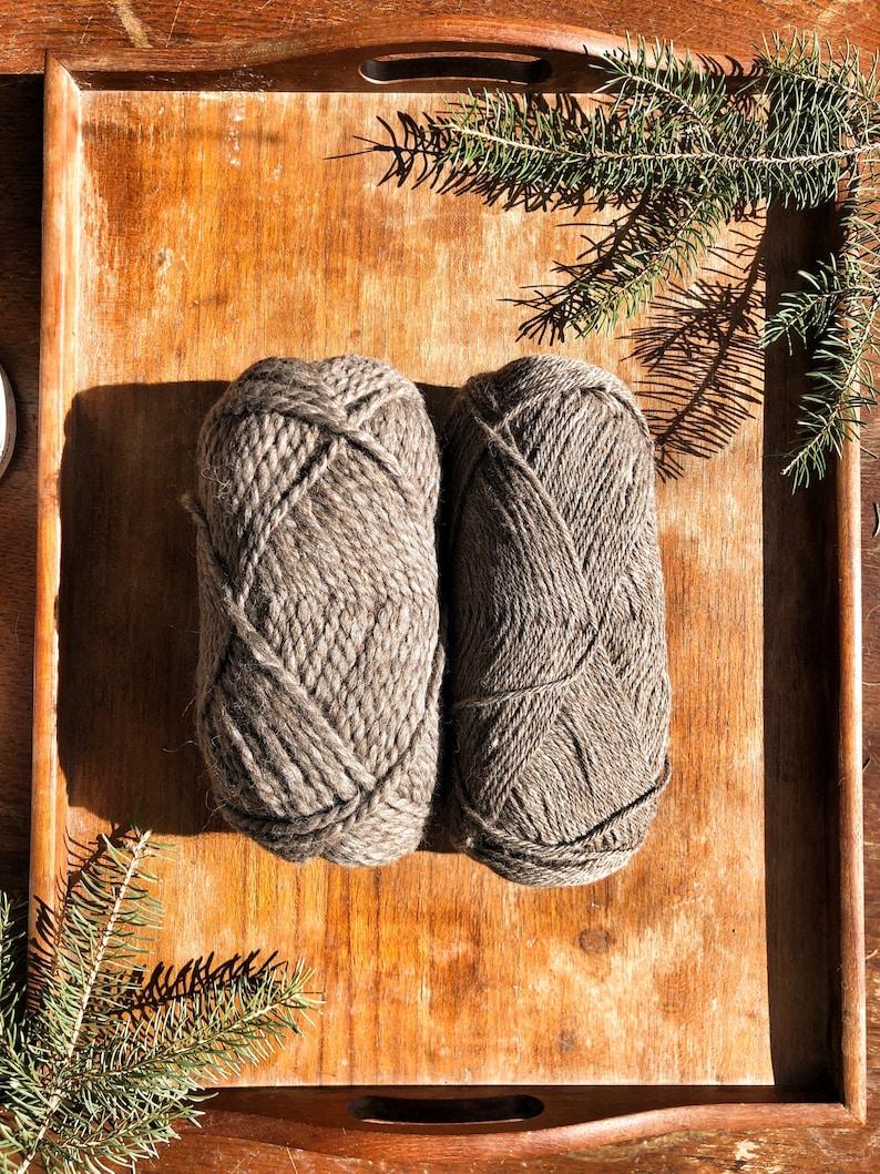 Co-op Rose Grey Alpaca /& Merino Dk or bulky weight Yarn