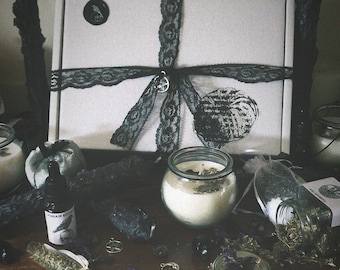 Laura's Dharma Monthly Subscription Box - Seasonal handmade gifts delivered monthly- October Samhain box