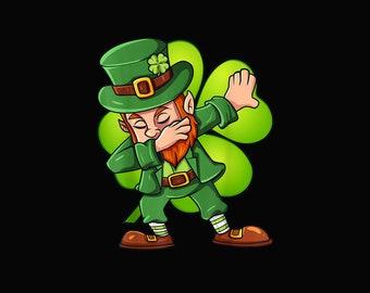 Leprechaun St St Patrick/'s Day Leprechaun Dab Dabbing Shamrock Saint Patricks Day Keychain Leprechaun Keychain Patricks Day Clover