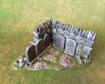 Graveyard Terrain Set 4