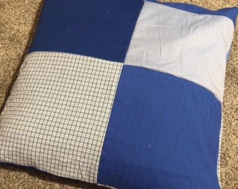 Removable Cover for Denim Dog Bed 100% Recycled