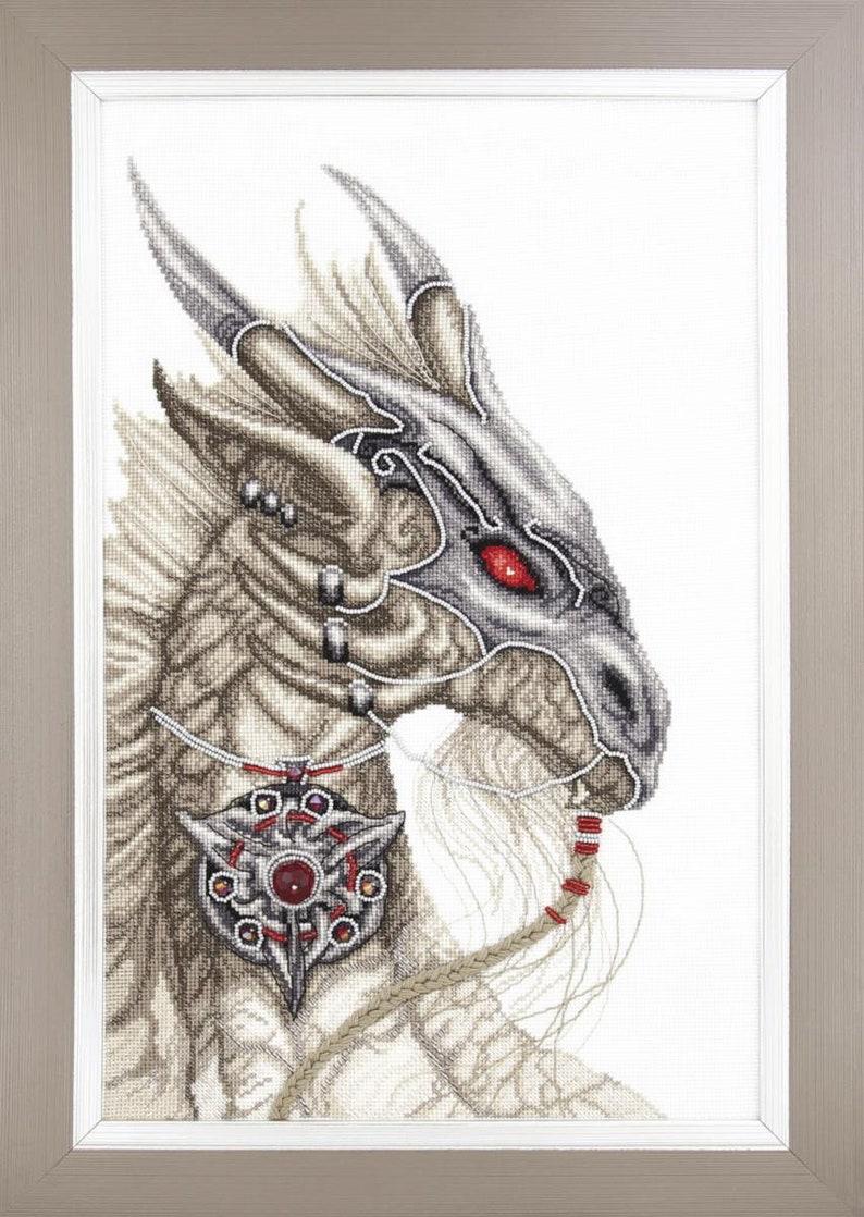 \u0421ross stitch kit Guardian of Treasures from Charivna Mit\u00ae