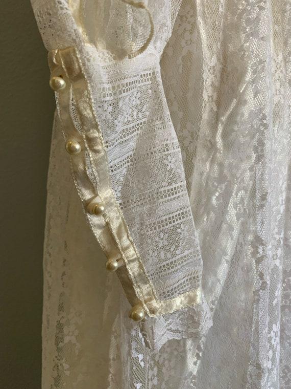 "Vintage 1970's ""Gunne Sax"" Wedding Dress - image 8"