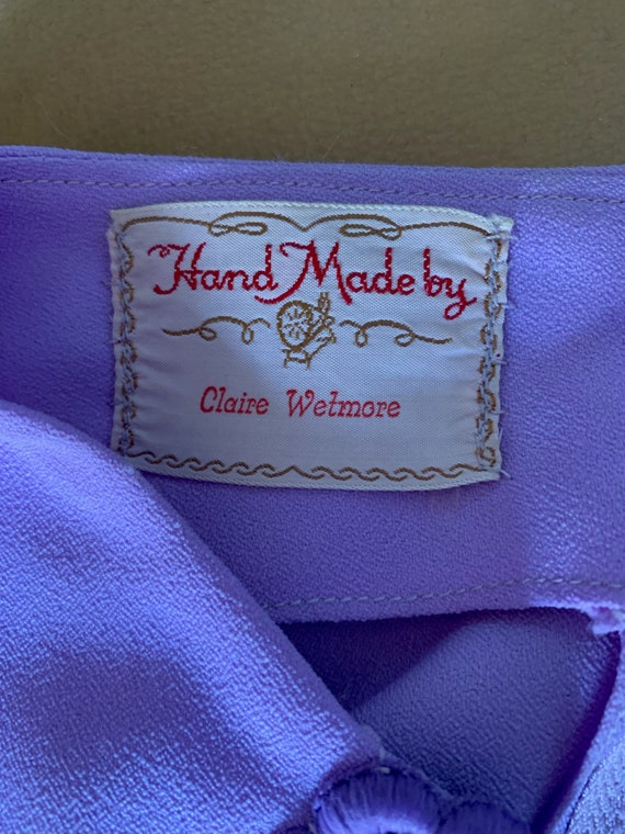 "Vintage 1960's ""Claire Wetmore"" Dress - image 9"