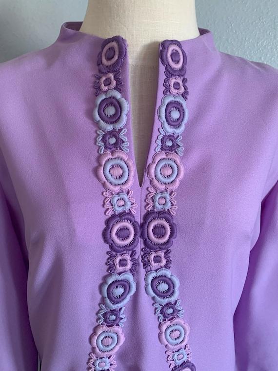 "Vintage 1960's ""Claire Wetmore"" Dress - image 4"