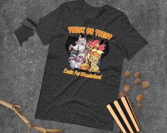 Short-Sleeve Unisex Halloween T-Shirt