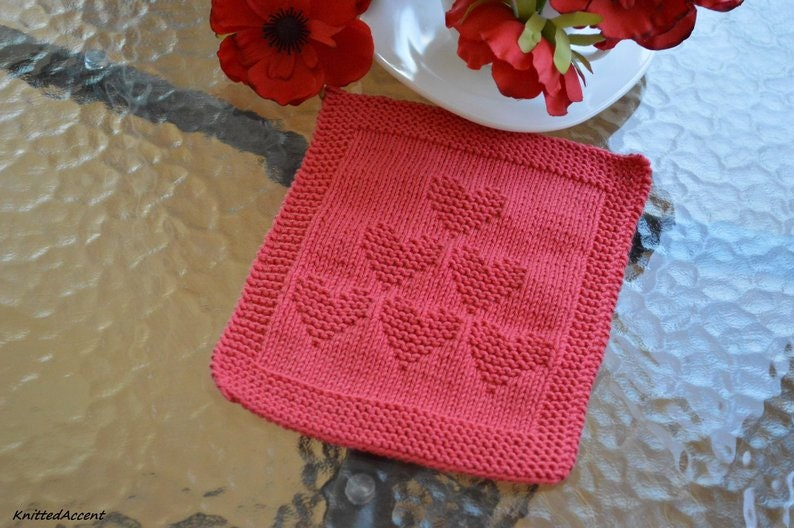 written instructions with diagram PATTERN knit cloth for beginner only in ENGLISH