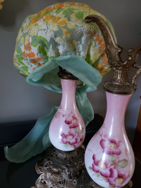 1970s Christian Dior MISS DIOR Floral Hat with ch… - image 3