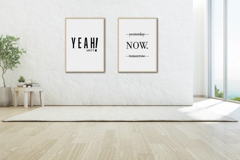 digital art wall art d\u00e9cor phrase wall art art prints digital download print set poster printable art d\u00e9cor home poster art wall