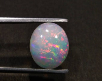 Excellent Opal Gift For Her Natural Ethiopian Opal Cabochon Gemstone Welo Fire Opal Loose Cabochon Jewelry Setting Opal Cabochon 0.35 cts