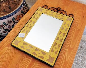 """Mosaic Wall Mirror - Wall Mirror - CUSTOMIZABLE Wall / Floor Mirror - ( Indoors & Outdoors ) Mirror - Handmade Mosaic Mirror 8"""" to 20"""" Or +"""
