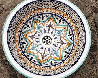 "16"" Handmade Ceramic  Washbasin"