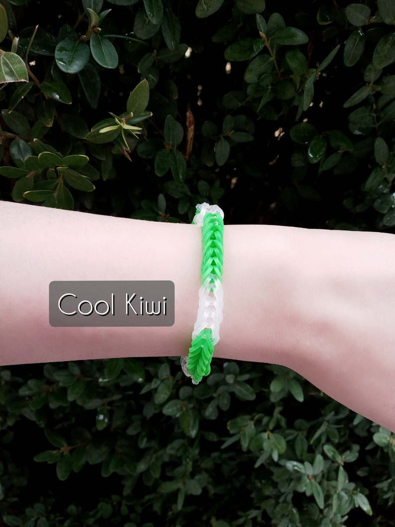 100/% of Proceeds go to charity, protecting victims of domestic and sexual abuse Nostalgic Rainbow Loom Bracelet