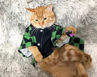 Cosplay Costumes For Cat Kıyafeti Kimono Perros Chiens Dress Pet Dog Clothes