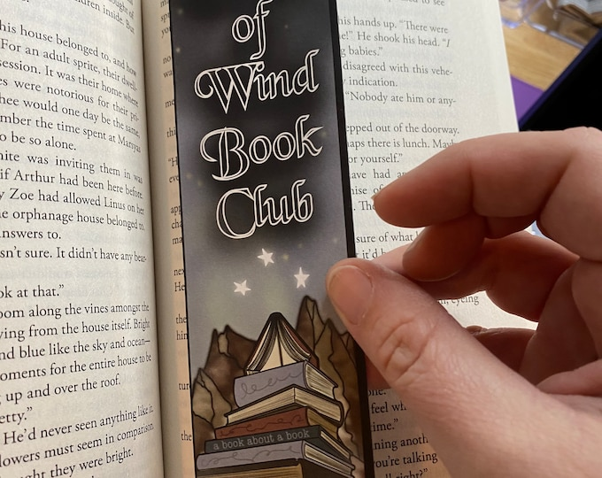 House of Wind Book Club Bookmark, Inspired by A Court of Silver Flames, ACOSF, ACOTAR Fanart, For Fantasy Book Lovers
