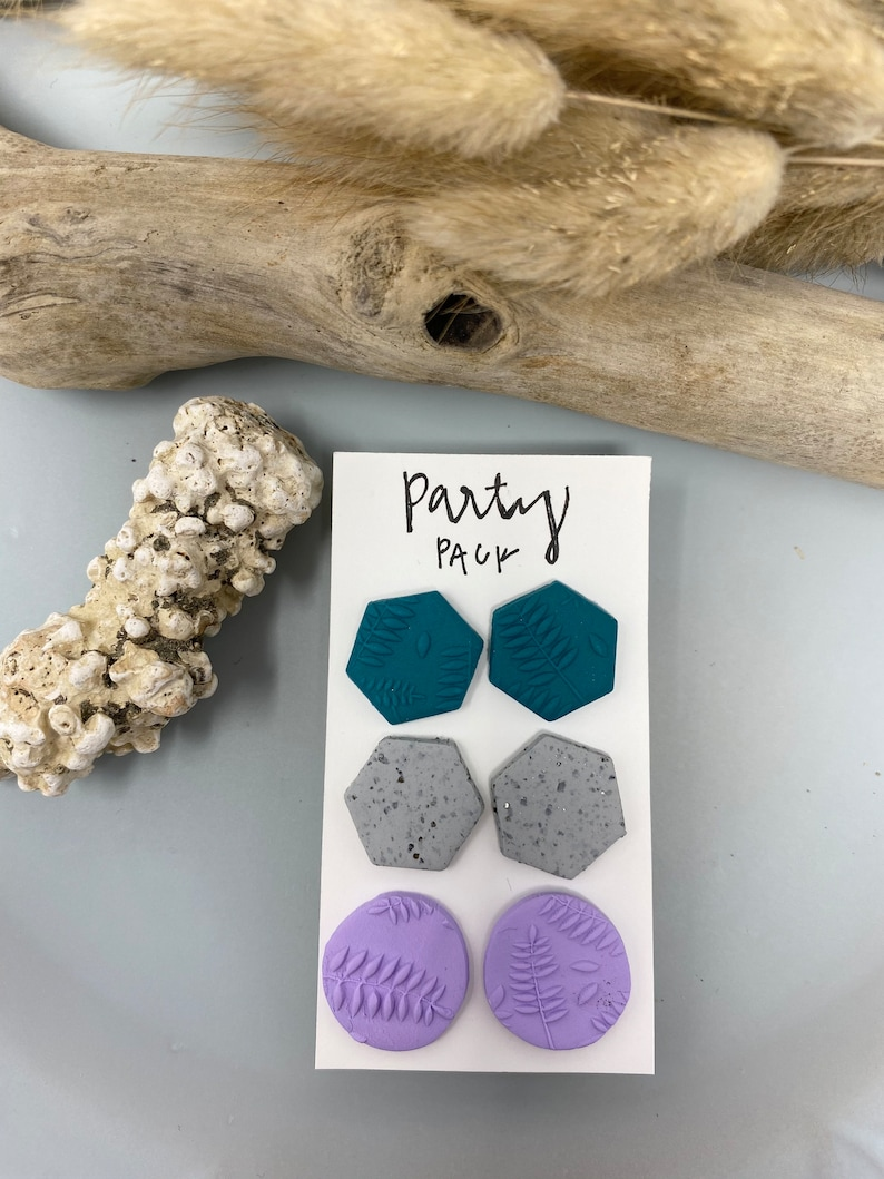 Clay Earrings Party Pack