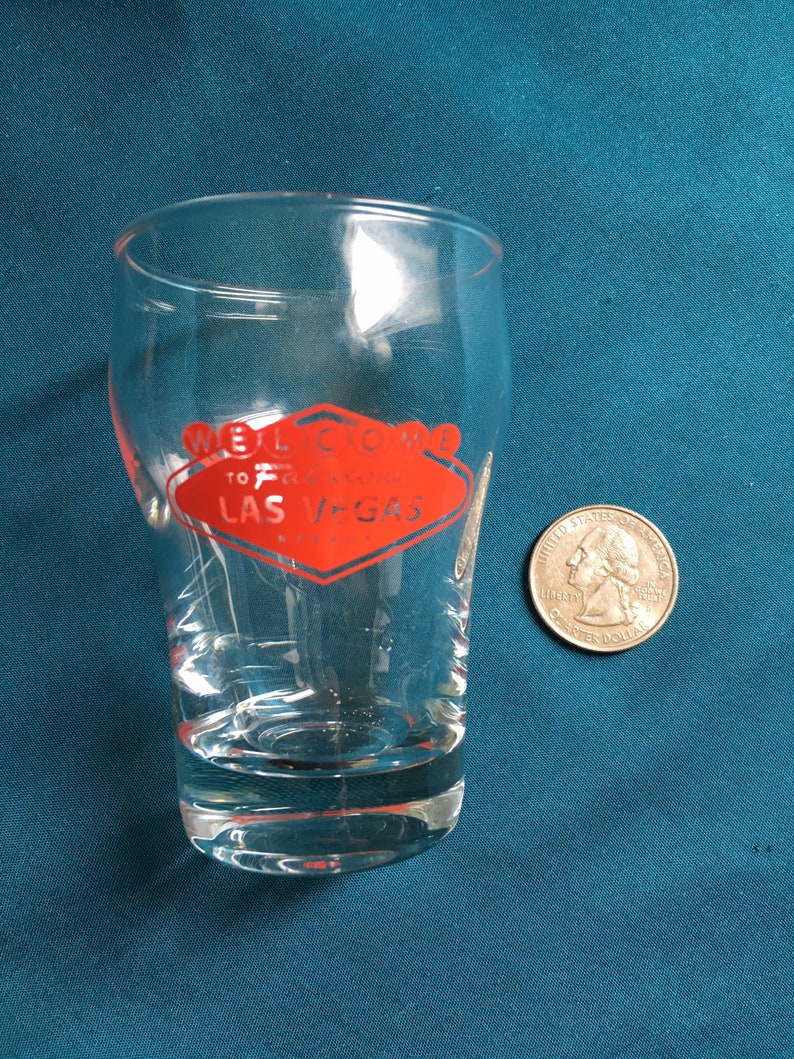 Coca Cola Las Vegas Shot Glass
