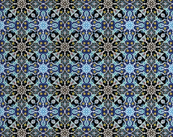Moroccan Fabric By the Yard, Kilim Bohemian Medallion Baklava Tulip Boho Anatolian Ottoman Oushak Pattern, DIY Project Upholstery Quilting