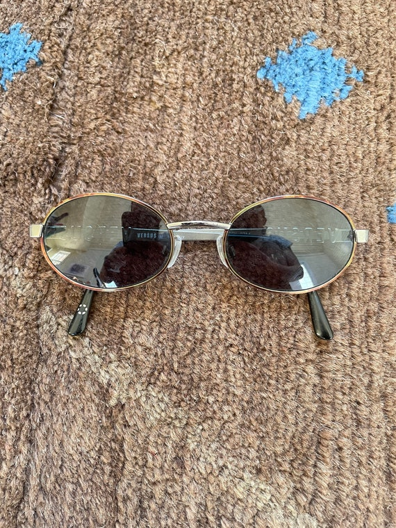 Versus Gianni Versace Vintage 90s Sunglasses with… - image 1