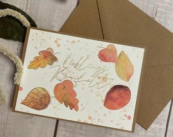 "Greeting card ""Favorite Confetti"""
