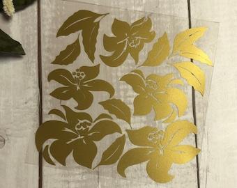 "Mix&Plott ""Aloha"" - foil cut for ironing"