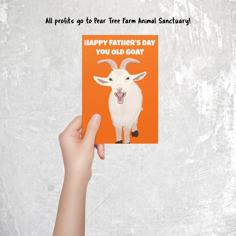 Funny Father's Day Card  All profits go to Pear Tree image 0