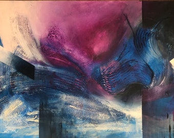 Original textured abstract painting