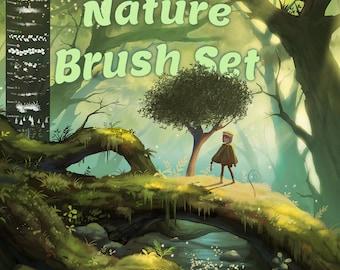 Nature Brush Set for Procreate!
