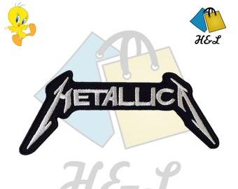 Metallica Metallica/_1 Patch Badge Embroidered Iron on Applique Souvenir Accessory