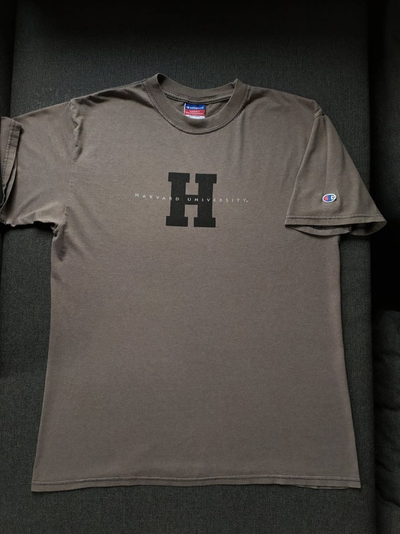 Vintage Harvard Champion t shirt - image 1
