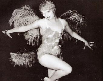8x10 photo LouiseBrooks 2 pretty 1920s-1930s movie star publicity photo