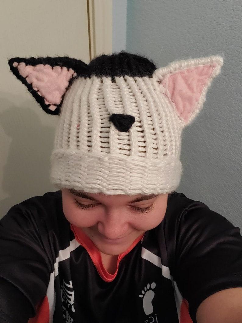 any color Custom cat ear beanie
