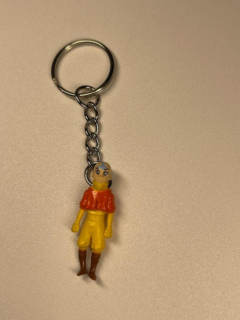 Aang avatar keychain