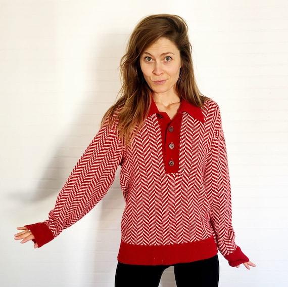 Vintage 1960's/70's Heritage Sportswear Sweater - image 1