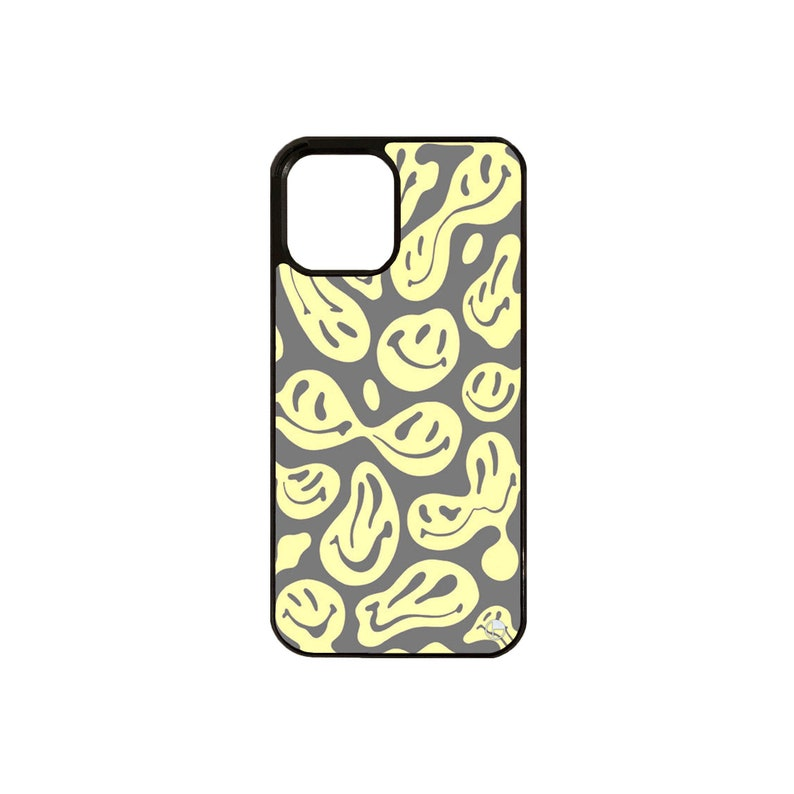 Wavey Smiley iPhone Case
