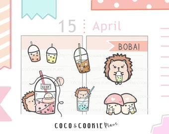 Pink Valentine/'s Hedgehog Hamster Rat Mouse Bubble-free sticker pack