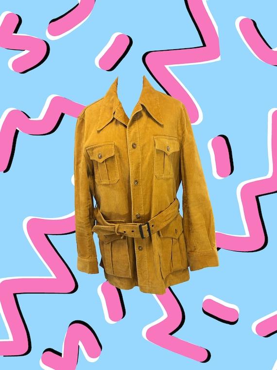 Mustard Yellow Corduroy Jacket