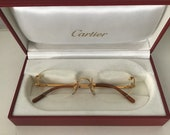 Cartier C Decor rimless eyewear vintage 1990 39 s