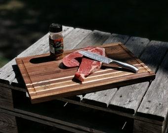 Repurposed wood cutting boards