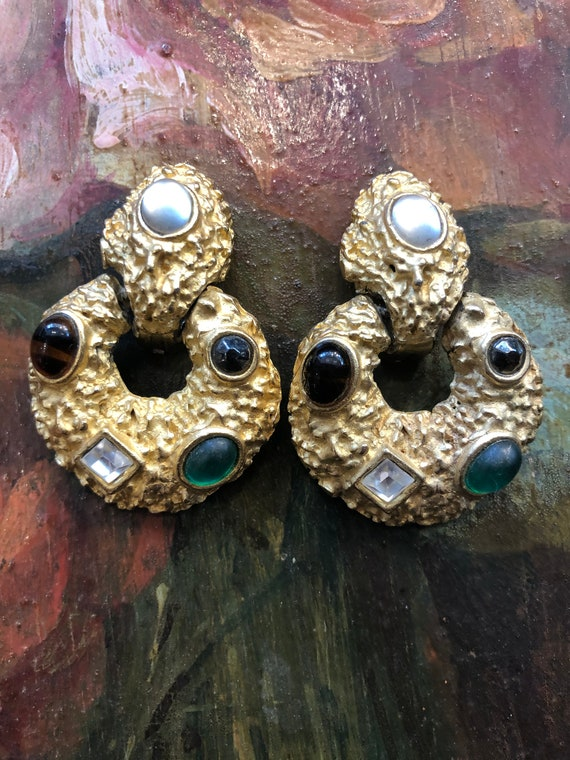 French vintage Earrings