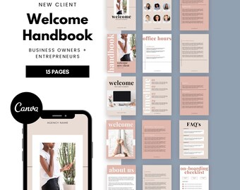 Client Welcome Packet | Client Onboarding Packet | New Client Packet | Service Guide | Virtual Assistant Packet | Business Proposal | Guide