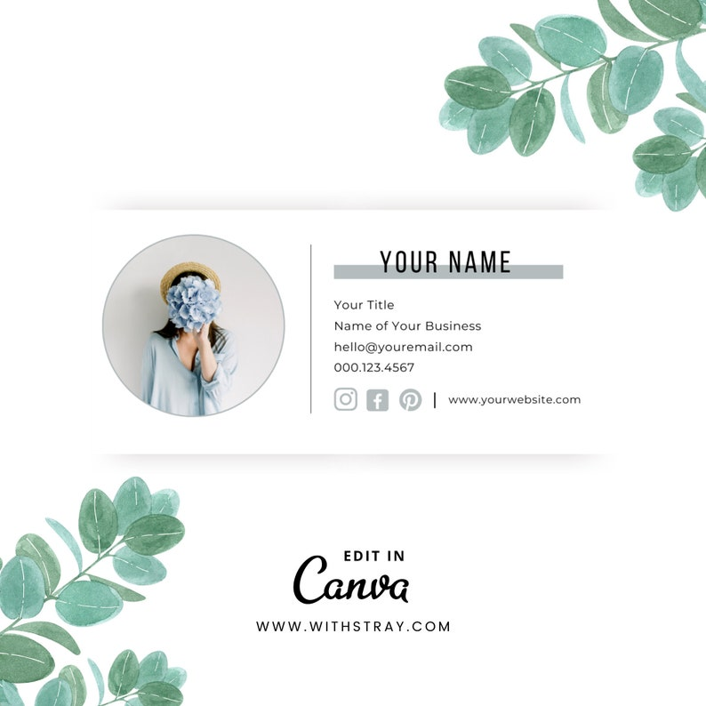 Email Signature Template Gmail Signature Small Business image 0