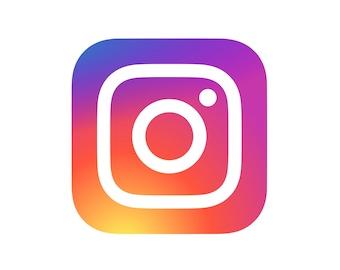 Instagram Logo PNG File - High Quality-instant DOWNLOAD-