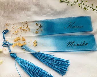 Personalized bookmarks with name